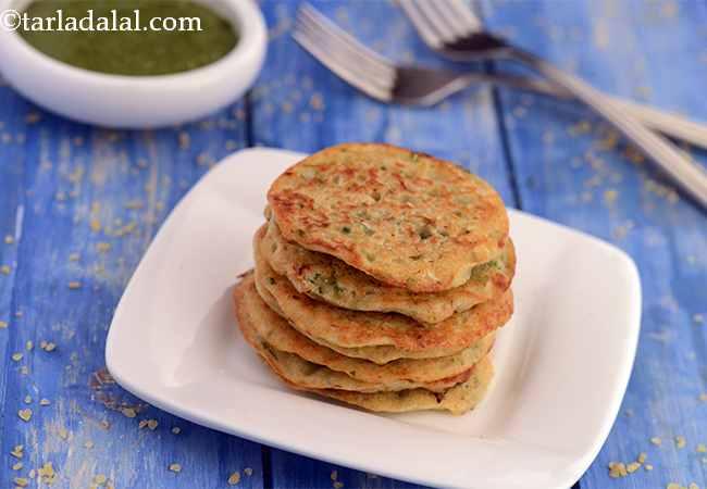 दलीया का पॅनकेक की रेसिपी - Bulgur Wheat Pancakes
