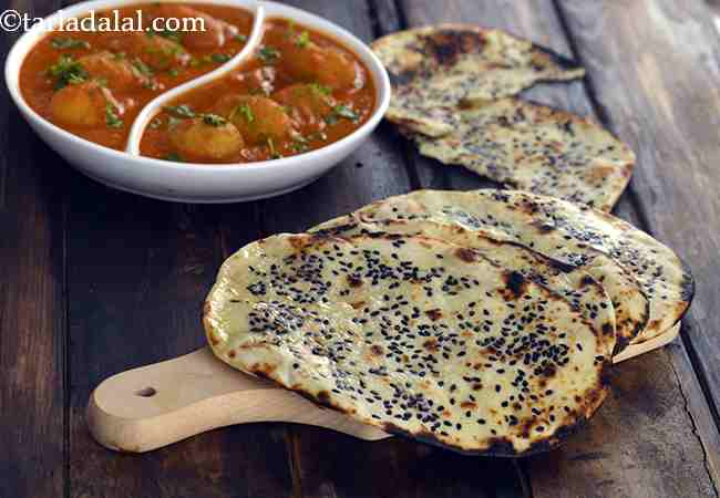 Butter Naan, Without Tandoor