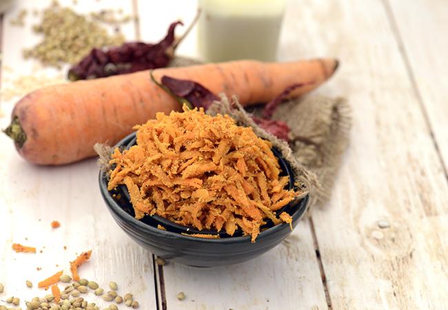 गाजर का अचार रेसिपी | पंजाबी अचार | - Carrot Pickle, Instant Gajar ka Achar