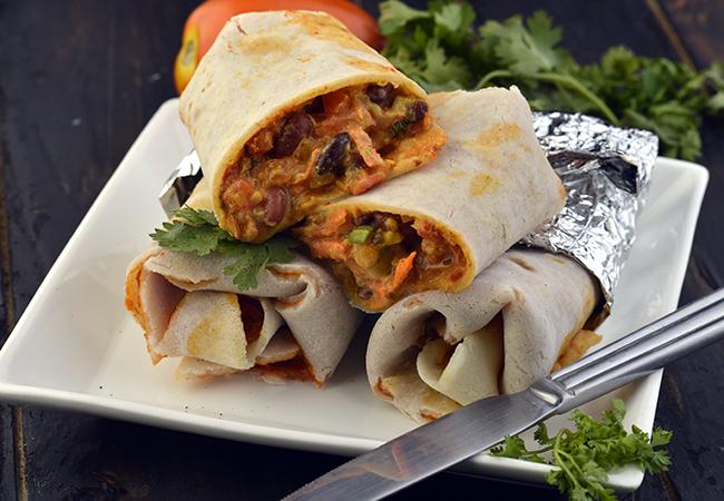 Chatpata Rajma Wrap ( Wraps and Rolls)