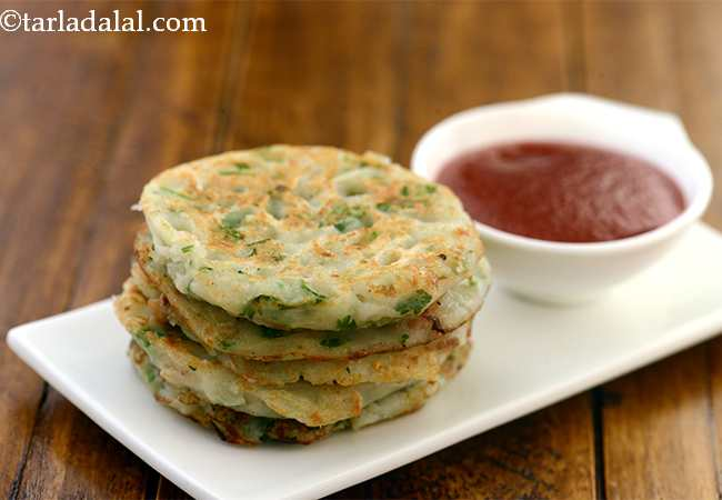 क्रंची मिनी पटॅटो पैनकेक - Crunchy Mini Potato Pancake