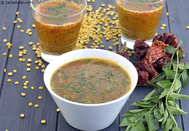 तुअर दाल रसम रेसिपी | अरहर दाल रसम | परपु रसम | दक्षिण भारतीय दाल रसम - Dal Rasam, South Indian Toovar Dal Rasam