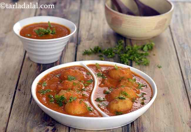 दम आलू रेसिपी | रेस्टोरेंट स्टाइल पंजाबी दम आलू रेसिपी हिंदी में | - Popular Restaurant Style Punjabi Dum Aloo