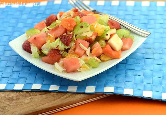 Fruit and Lettuce Salad ( Healthy Soups and Salads Recipe)