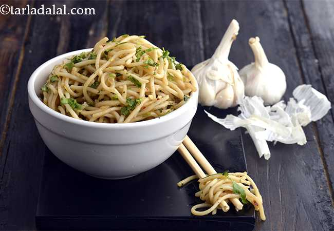 Garlic Noodles, Veg Garlic Hakka Noodles