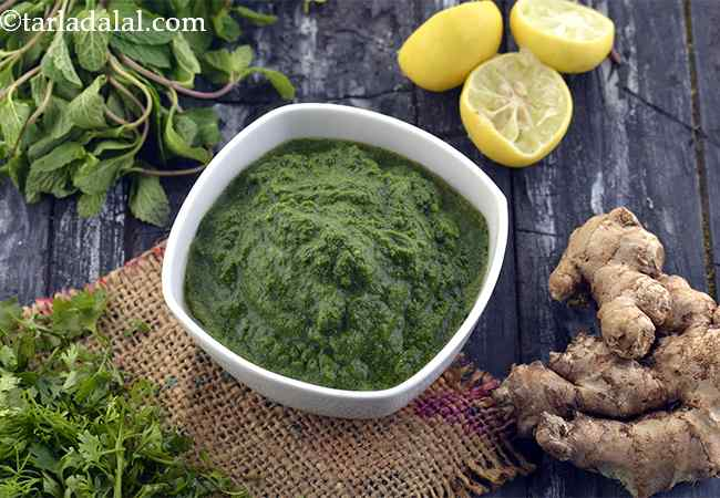 Green Chutney, How To Make Green Chutney Recipe