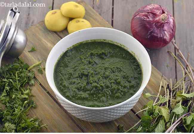 Healthy Green Chutney