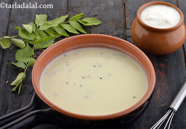 Healthy Kadhi, Low Fat Kadhi Recipe