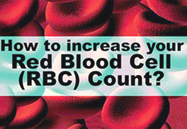How to increase your Red Blood Cell (RBC) count?