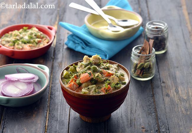 Hyderabadi Mixed Veg Korma