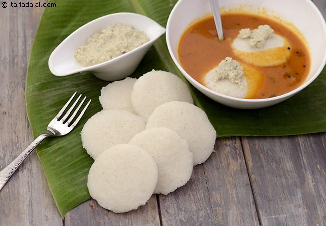 इडली रेसिपी | दक्षिण भारतीय इडली - Idli