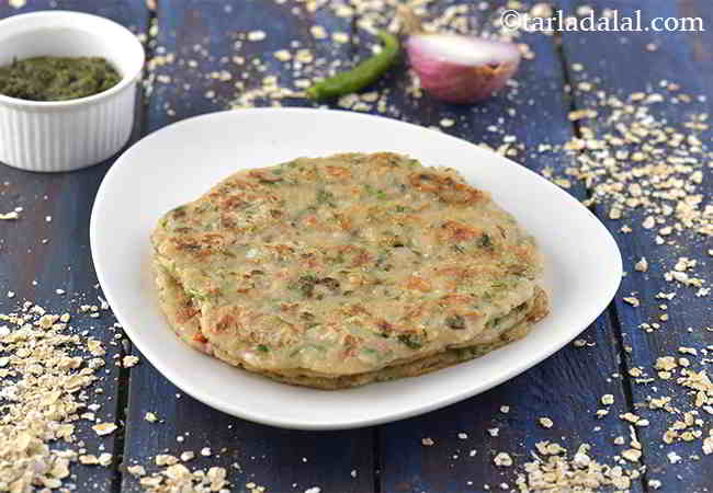 Indian Oats Pancake with Jowar