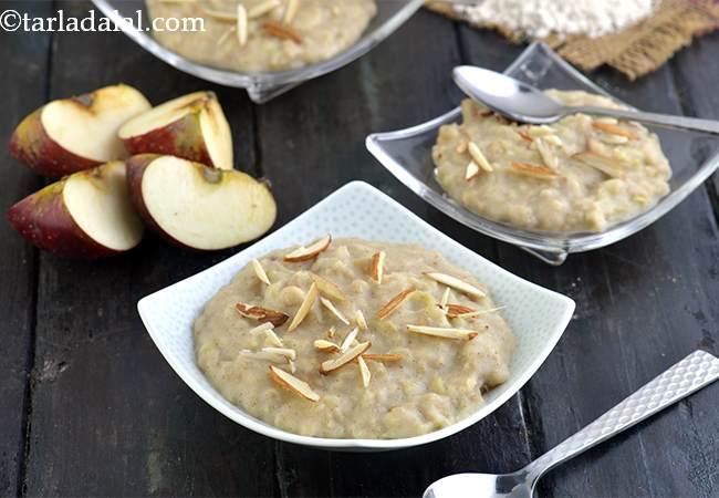 Jowar Apple Sheera, Healthy Indian Sweet