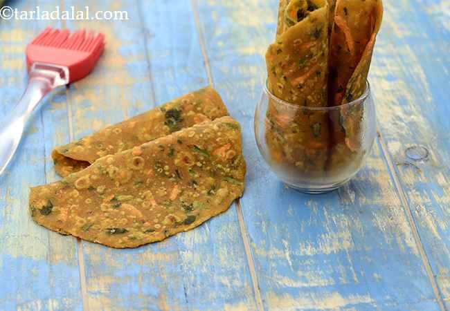 Jowar and Vegetable Paratha