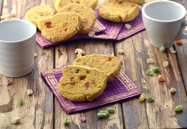कराची बिस्कुट, हैदराबादी टूटी फ्रूटी बिस्कुट - Karachi Biscuit