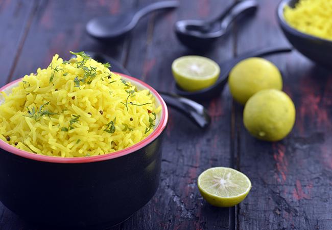 लेमन राईस - Lemon Rice ( South Indian Recipes )