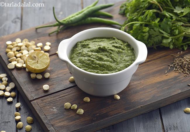 Low Calorie Green Chutney, Hari Chutney – Diabetic Friendly