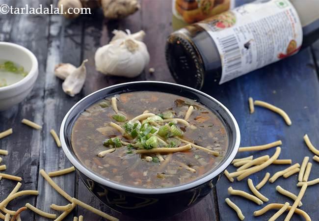 Manchow Soup, Chinese Veg Manchow Soup