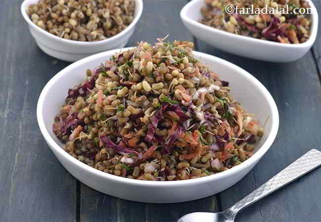 Matki Salad, Healthy Moath Bean Salad