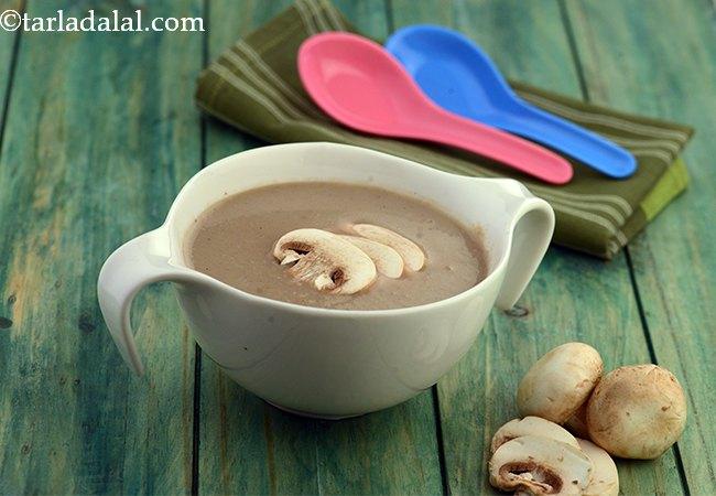 मशरूम सूप - Mushroom Soup