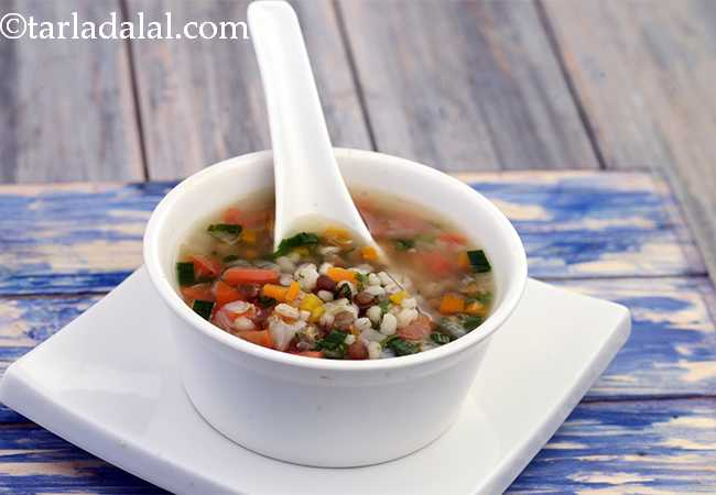 Nourishing Barley Soup