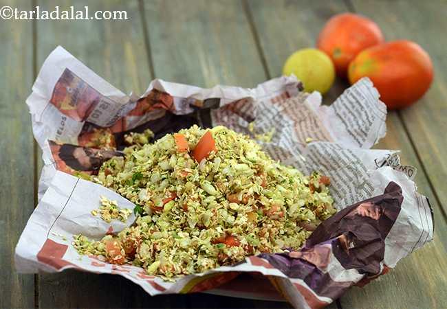 ओट्स एण्ड पोहा सूखा भेल - Oats and Poha Sukha Bhel