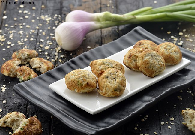 Oats and Spring Onion Appe
