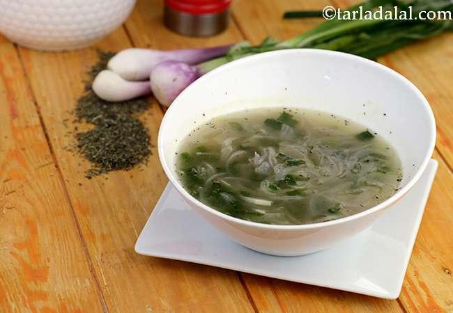 अनियन थाईम सूप - Onion Thyme Soup