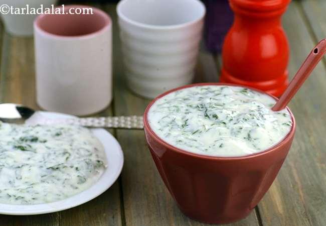 Palak Raita Or How To Make Spinach Raita Recipe