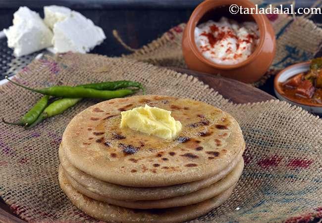 पनीर पराठा रेसिपी | पंजाबी पनीर पराठा Punjabi Paneer Paratha