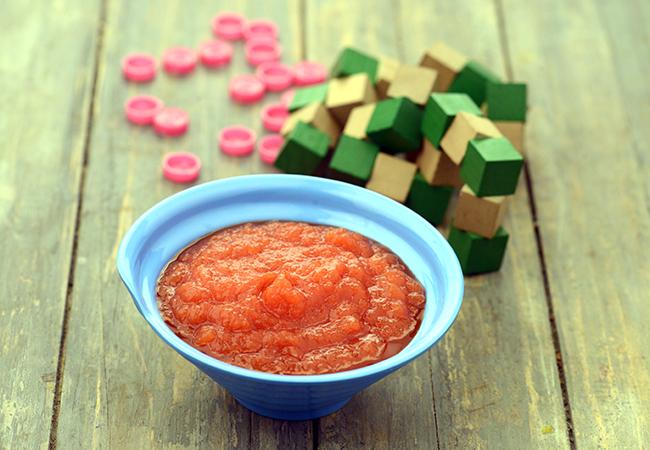 Papaya Puree for Babies
