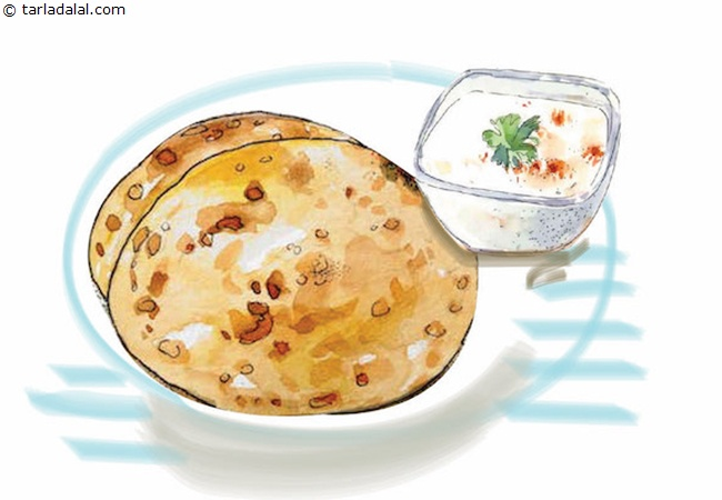 Paratha-with-Curd