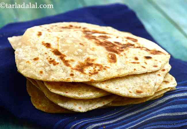 Parathas, Plain Paratha, Basic Paratha Recipe