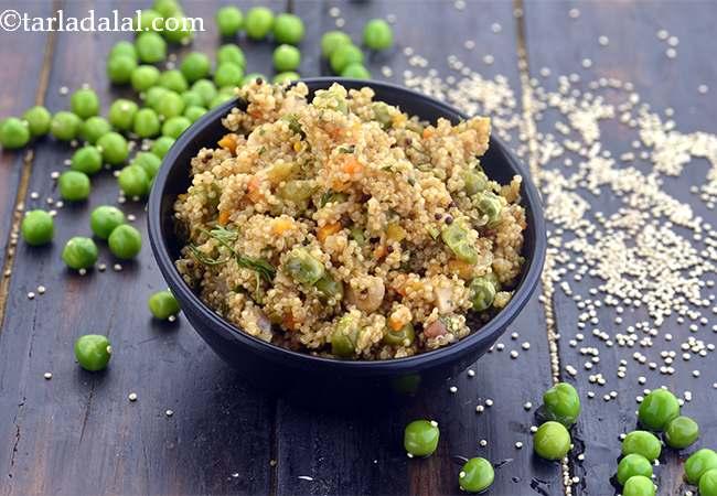 Quinoa Veg Upma, Vegan Breakfast