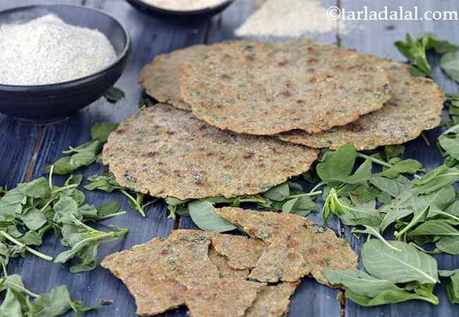 Rajgira Buckwheat Brown Rice Flour Khakhra