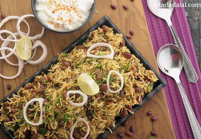 पंजाबी राजमा चावल | राजमा चावल कैसे बनाये - Punjabi Rajma Chawal