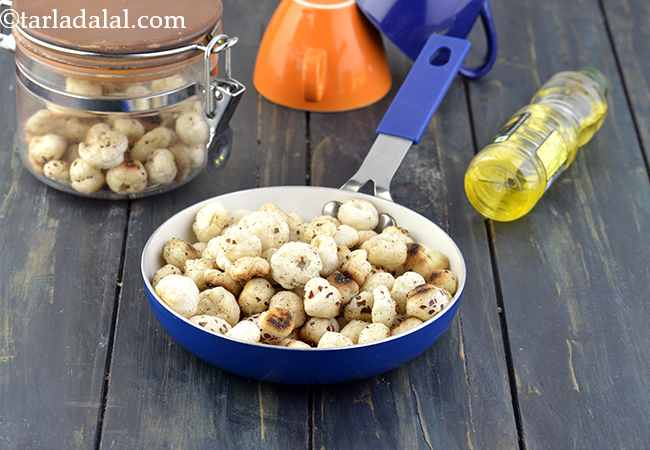 Roasted Makhana, Roasted Lotus Seeds