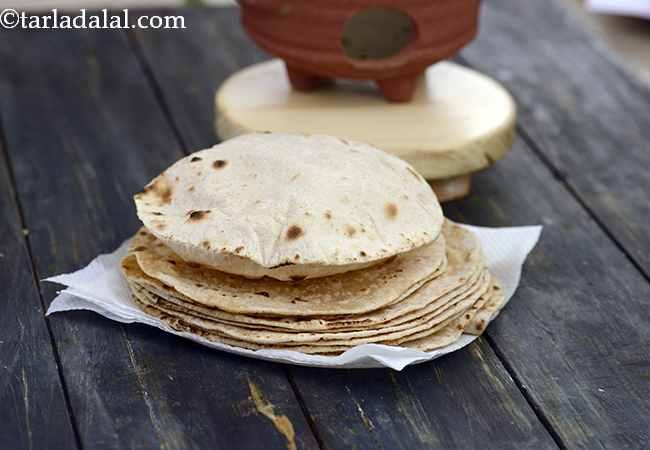 रोटी रेसिपी | चपाती रेसिपी | मुलायम रोटी | फुल्का रेसिपी | - Roti