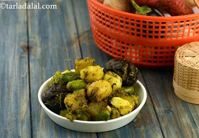 Sambhariyu Shaak (Gujarati Recipe)