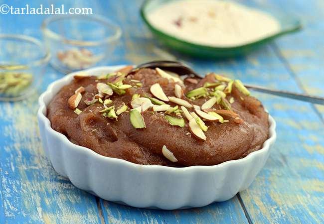 सिंघाड़ा शीरा - Singhada Sheera, Farali Singhara Halwa, Vrat Recipe