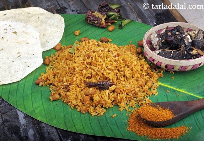 टैमरिंड राइस | दक्षिण भारतीय टैमरिंड राइस | पुलिहोरा चावल