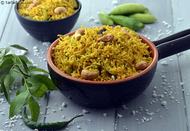 Tendli Bhaat, Microwave Recipe