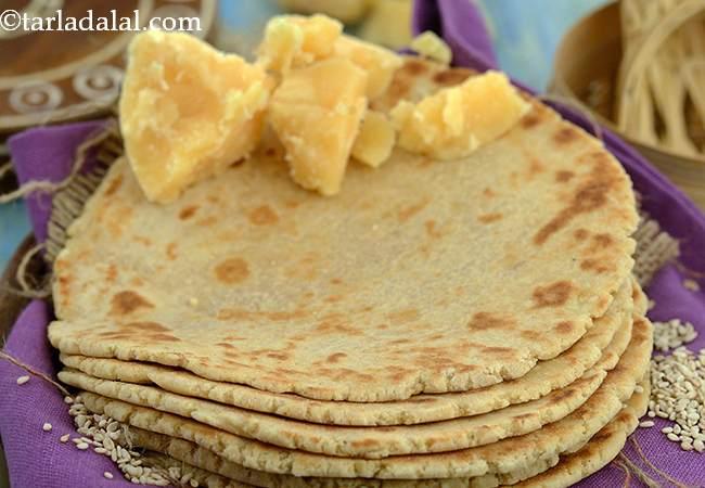 तिल गुड़ की रोटी - Til Gur ki Roti ( Iron Rich)