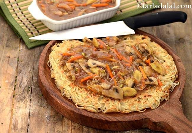 वेजिटेबल चाऊमीन रेसिपी | बाजार जैसी चाऊ मीन | चाऊमीन | वेज चाउ मीन - Vegetable Chow Mein