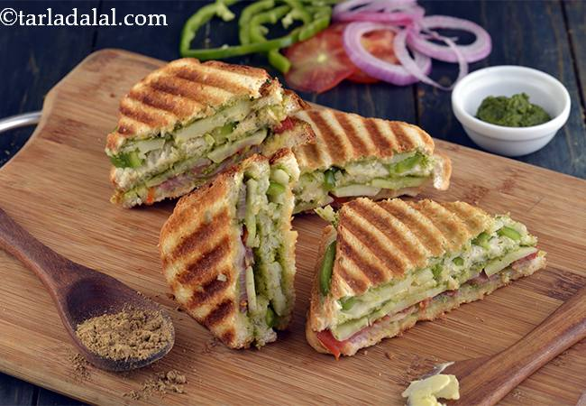 32 Veg Grilled Sandwich Recipes Collection Of Grilled Sandwiches