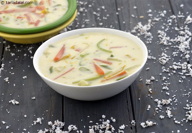 Vegetables in Coconut Curry