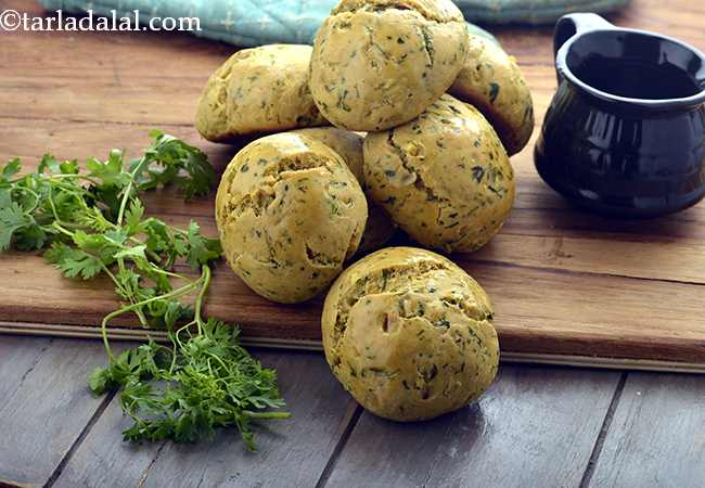 Whole Wheat Masala Bread Rolls, Healthy and Diabetic Friendly