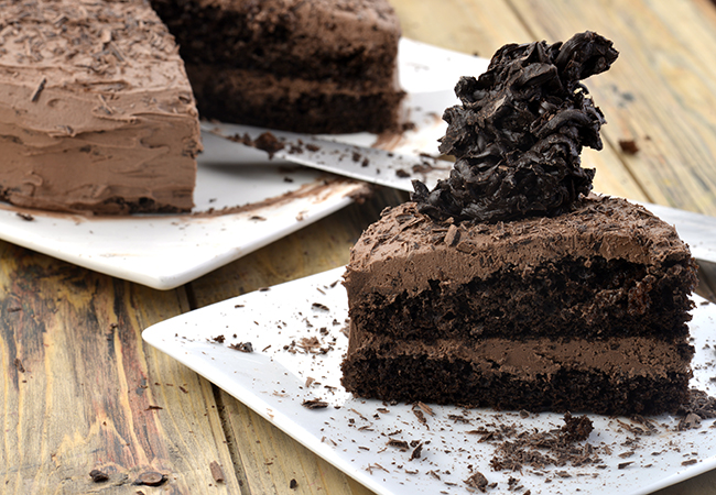 Chocolate Mousse Cake, Eggless Chocolate Mousse Recipe