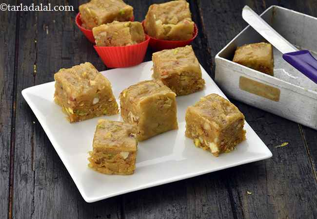 Dry Fruit Barfi