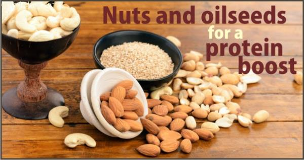 NUTS AND OIL SEEDS FOR A PROTEIN BOOST